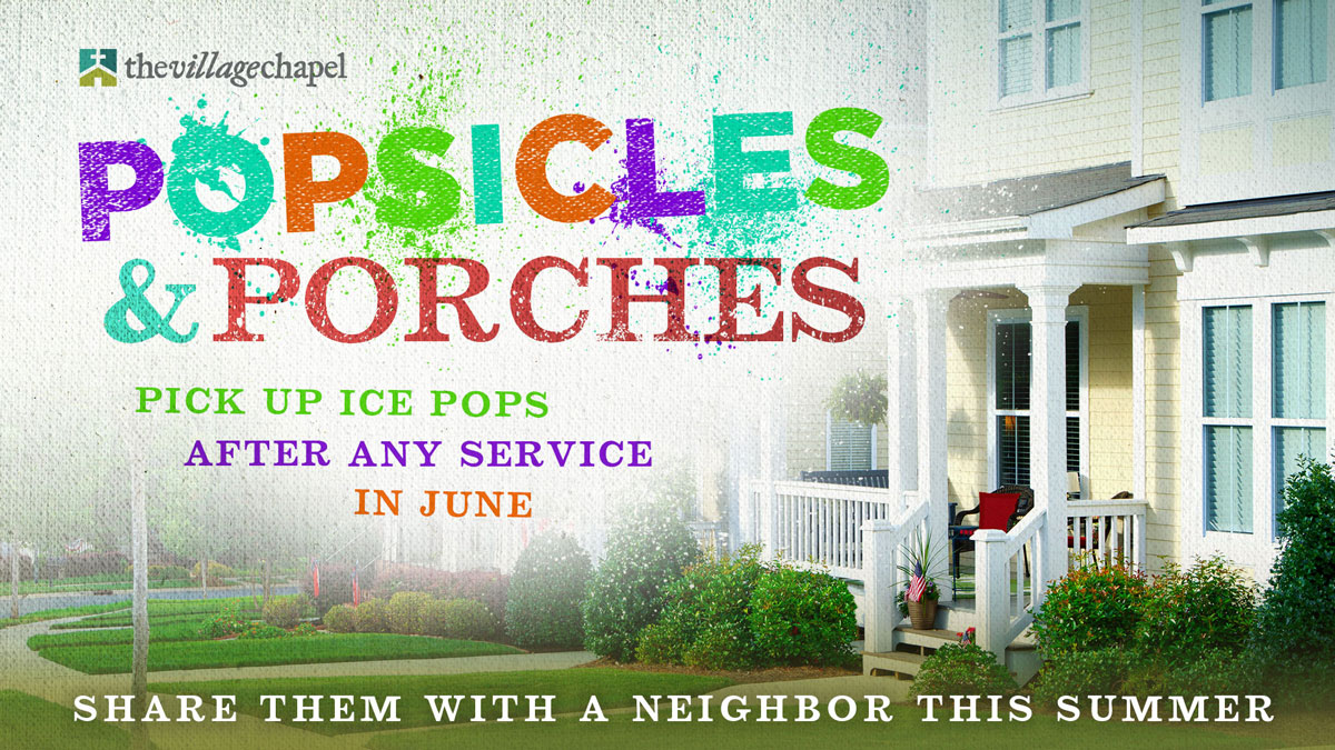 Popsicles and Porches