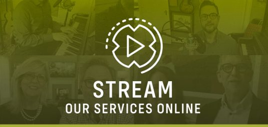Stream our services online - Sunday worship services & Thanksgiving Thursdays