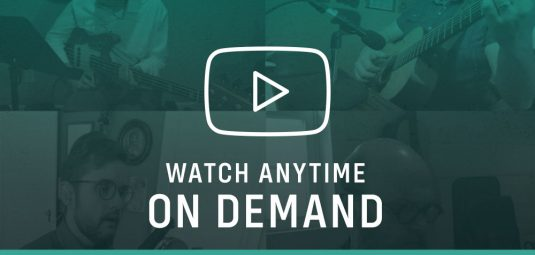 Watch anytime on demand - Sunday worship services & Thanksgiving Thursdays